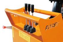 Commandes hydrauliques déchiqueteuse de branches TR6D