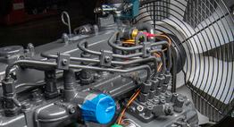 Moteurs diesel 42 ou 24cv pour broyeur de branches thermique FÖRST ST6D