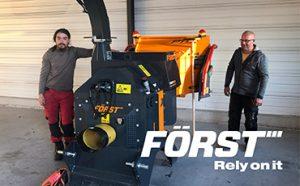 Broyeur pour tracteur Argoat Travaux Forestiers.